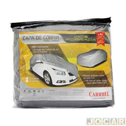 Capa de carro - Carrhel - médio - impermeável- 100% forrada - com cadeado - cada (unidade) - 282
