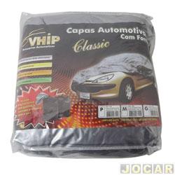 Capa de carro - importado - pequena - impermeável - forrada - cada (unidade) - 630
