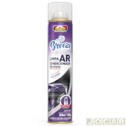 Limpador de ar condicionado - Proauto - BREEZE lavanda - 300mL - cada (unidade) - 3605