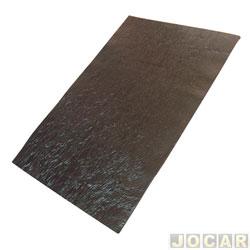 Anti-ruído - universal 40x60cm - capô, porta e lateral - autoadesivo - preto - cada (unidade)