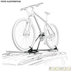 aa05dc252 Suporte para bicicleta - Eqmax - Big bike teto S - aluminium - branca - cada
