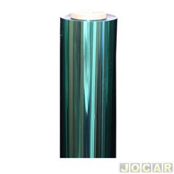 Faixa adesiva - degrade para vidro - prata - cada (unidade)