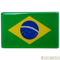 Emblema - alternativo - Bandeira do brasil - cada (unidade)