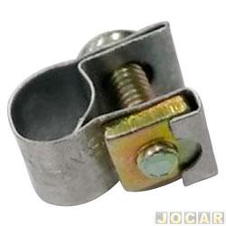 Abraçadeira - metalica 7mm 3/16 x 1/4 - Simplex - cada (unidade)