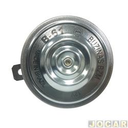 Buzina - BZM - modelo paquerinha(bi-bi) - 12V 97mm - cada (unidade) - B61