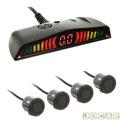Sensor de estacionamento - Over Vision - display led - 4 sensores - preto fosco - cada (unidade) - SE06604-PRETO FOSCO