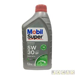 Óleo do motor - Mobil - Super - Sintético - Super D1 5W-30 - API SP - 1 Litro - cada (unidade) - APISN/5W-30