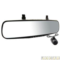 Retrovisor interno - Roadstar - DVR - com câmera de ré - tela 4.3 - gravação em Full HD - cada (unidade) - RS-510BR