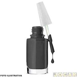 Tinta para retoque automotivo - alternativo - preto fosco - cada (unidade)