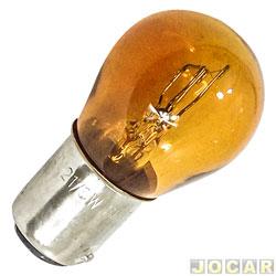 Lâmpada - importado - 2 polos  - âmbar (amarela) - cada (unidade) - 70771
