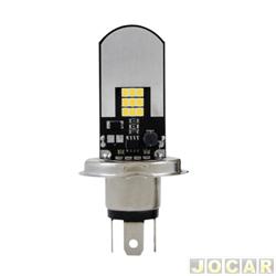 Lâmpada farol LED - Autopoli - H4 SLIM - 12/24V - 6500K - cada (unidade) - AL578