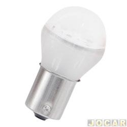 Lâmpada de led - Autopoli - Lanterna 1 polo - bulbo - pinos encontrados - branca - cada (unidade) - AU012