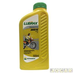 Óleo 2 tempos - Lubrax - essencial semi-sintético - 500ml - cada (unidade) - 708046