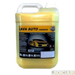 Xampu - Gitanes - detergente automotivo - 5 litros - cada (unidade) - 0030