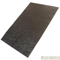 Anti-ru�do - Toroflex - 20x30cm -universal-cap�,porta,lateral-auto colante - preto - cada (unidade) - 00361/6