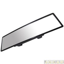 Retrovisor interno - alternativo - panoramico - com lente convexa - preto - cada (unidade)