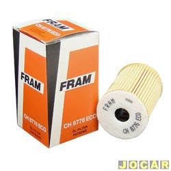 Filtro de �leo - Fram - Classe A 160/190 - 1999 em diante - cada (unidade) - CH8776