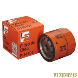Filtro de óleo - Fram - Corsa 1.6 MPFI 8V/1.6V 1995 até 2003 - idea 1.8 - 2005 até 2010 - cada (unidade) - PH4701