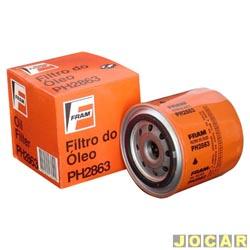 Filtro de �leo - Fram - 147-Uno /01 carbur/ie/1.6mpi-Tempra exc.Turbo-Lada - cada (unidade) - PH2863