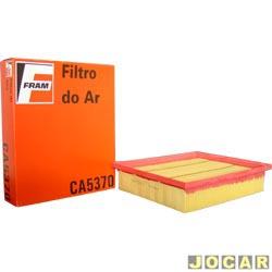 Filtro de ar do motor - Fram - Golf 1.6/1.8/2.0/2.8i VR6 - 1993 até 1998 - cada (unidade) - CA5370