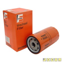 Filtro de óleo - Fram - A3 1.8 TURBO 20V 1996 até 2006 - cada (unidade) - PH2895