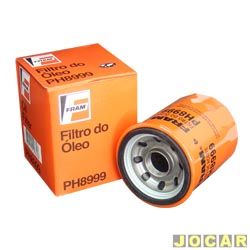 Filtro de �leo - Fram - Civic 1.8 16V 2007 em diante - City /2014 - Fit 2003 a 2014 - CR-V 2.0 I-VTEC 2002 at� 2011 - cada (unidade) - PH8999