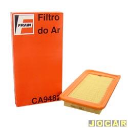 Filtro de ar do motor - Fram - Corolla/Fielder  - 2003 em diante - cada (unidade) - CA9482