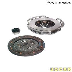 Kit de embreagem - LUK - Xsara 1.6 2001 até 2003 - jogo - 620 3010 00