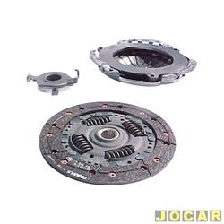 Kit de embreagem - LUK - Doblò 1.3 2001 até 2006 - Idea 1.4 2005 até 2010 - Palio/Weekend/Siena - 1.3/1.4 - 2000 em diante - jogo - 619 3015 00