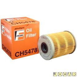 Filtro de óleo - Fram - Golf 2.8 1995 até 1997 - Passat 2.8 1991 até 1995 - cada (unidade) - CH5478