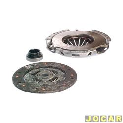 Kit de embreagem - LUK - Kadett/Ipanema - 1.8/2.0 - 1989 até 1992 - Monza 1.8/2.0 - 1990 até 1992 - jogo - 622 1229 00