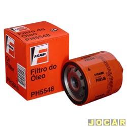 Filtro de óleo - Fram - Gol 1.0 8V/16V -1997 até 2005 - cada (unidade) - PH5548