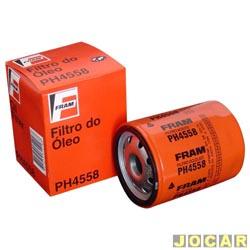 Filtro de �leo - Fram - Palio 1996 at� 2000 - Uno 1994 at� 2004 - cada (unidade) - PH4558
