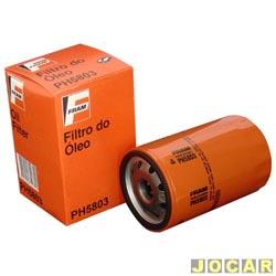 Filtro de �leo - Fram - Fiesta 1.6 2002 at� 2008 - cada (unidade) - PH5803