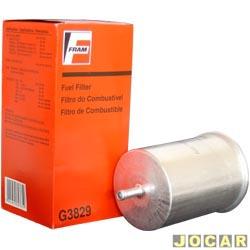 Filtro de combustível - Fram - Gol 2.0 8V 1995 até 2008  - cada (unidade) - G3829