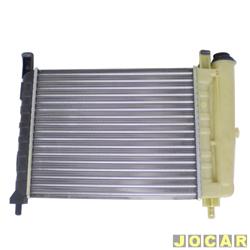 Radiador do motor - alternativo - Visconde - Uno 1.0 1991 até 1993 - Uno/Prêmio/Elba/Fiorino - 1.3 todos - com reservatorio - sem ar  - cada (unidade) - 12202