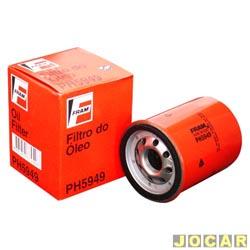 Filtro de �leo - Fram - Palio/Uno - 1.0 Fire - 2001 em diante - Idea 1.4 - 2005 at� 2010 - cada (unidade) - PH5949