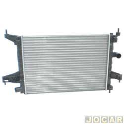 Radiador do motor - alternativo - Visconde - Corsa 2003 até 2008 - Montana 2003 até 2010 - 1.0 com e sem ar - 1.4/1.8 sem ar - cada (unidade) - 12577