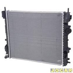 Radiador do motor - alternativo - Visconde - Clio hatch/sedan 1999 em diante - 1.0/1.6 com ar - cada (unidade) - 12903
