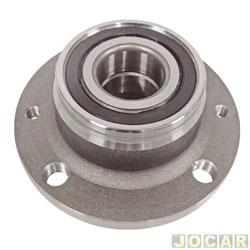 Cubo de roda - Alfa Romeo 145/155 - Siena/Tempra/Coupe/Marea - Tipo 2.0 - Punto 1.4/1.8 - Palio - 4 furos sem ABS - traseiro - cada (unidade)