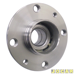 Cubo de roda - Palio/Siena/Stilo/Idea/Brava/Marea - Punto 1.4/1.8 - com ABS e Sensor Magnético - traseiro - cada (unidade)