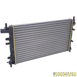 Radiador do motor - Visconde - Escort/Verona 1.6/1.8 - 1993 at� 1996 - Logus/Pointer 1.6/1.8 1993 at� 1997 - sem ar  - cada (unidade) - 12275