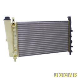 Radiador do motor - alternativo - Visconde - Uno/Prêmio/Fiorino/Elba - 1987 até 1993 - com reservatório - cada (unidade) - 12204