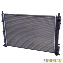 Radiador do motor - Visconde - Palio/Siena/Strada - 1.0,1.3 e 1.5 - 1996 at� 2000 - com ar  - cada (unidade) - 12535