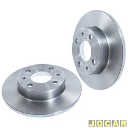 Disco de freio - Hipper Freios - Sentra/Sunny - S�lido - par - HF610
