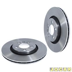 Disco de freio - alternativo - Hipper Freios - Golf 1.8 20V /2.0 16V 1997 até 2009 - Bora 2000 até 2007 - ventilado - 280 mm - par - HF-82