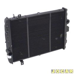 Radiador do motor - alternativo - Visconde - Gol/Parati/Saveiro/Voyge 1987 até 1994 - Passat 1986 até 1989 - com ar - cada (unidade) - 19183