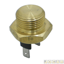 Sensor temperatura do radiador (cebol�o) - alternativo - Corcel/Belina-1.4/1.6-1973 at� 1991-Voyage/Passat  - 1983 at� 1993-Gol/Parati/Saveiro-1.6-1993 at� 1994 - cada (unidade)