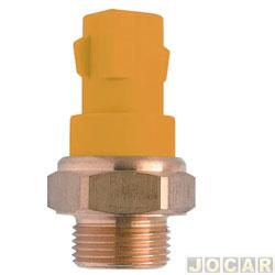 Sensor temperatura do radiador (cebolão) - MTE-Thomson - Escort 1.6/1.8 Zetec 16V - 1995 até 2003 - 2 pinos - cada (unidade) - 864.95