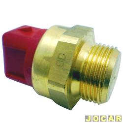 Sensor temperatura do radiador (cebolão) - MTE-Thomson - Escort 1.6/1.8 16V - 1996 até 2002 - com ar - cada (unidade) - 828